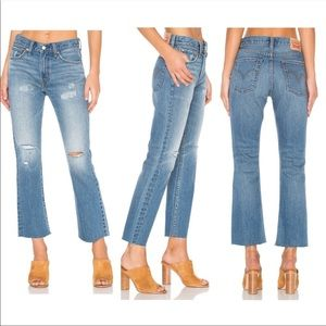 LEVI'S Kick Flare-Leg Ankle Jeans NWT in Size 28